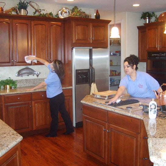 We offer full residential cleaning from windows to carpets and anything in between