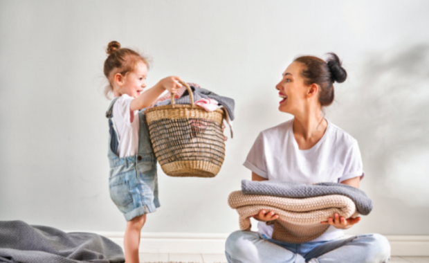 How To Spring Clean When Kids Are Around
